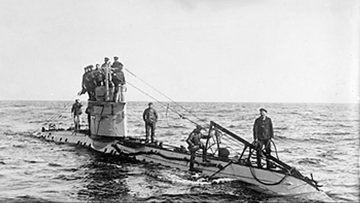 Ubåtarna skulle vinna första världskriget åt Tyskland.