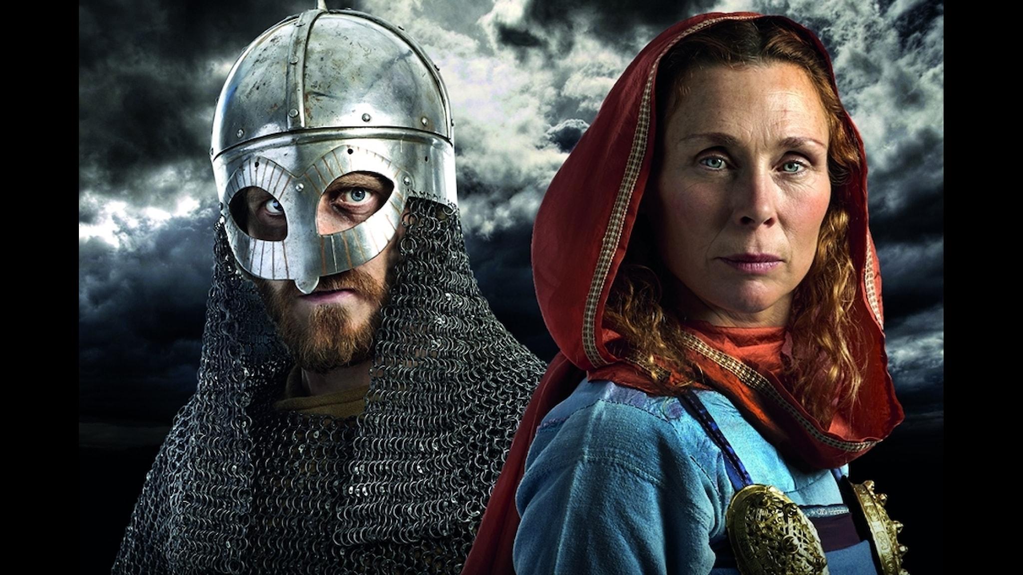 Ulvbjörn och Ragnfrid är huvudpersonerna i Vikingaliv.