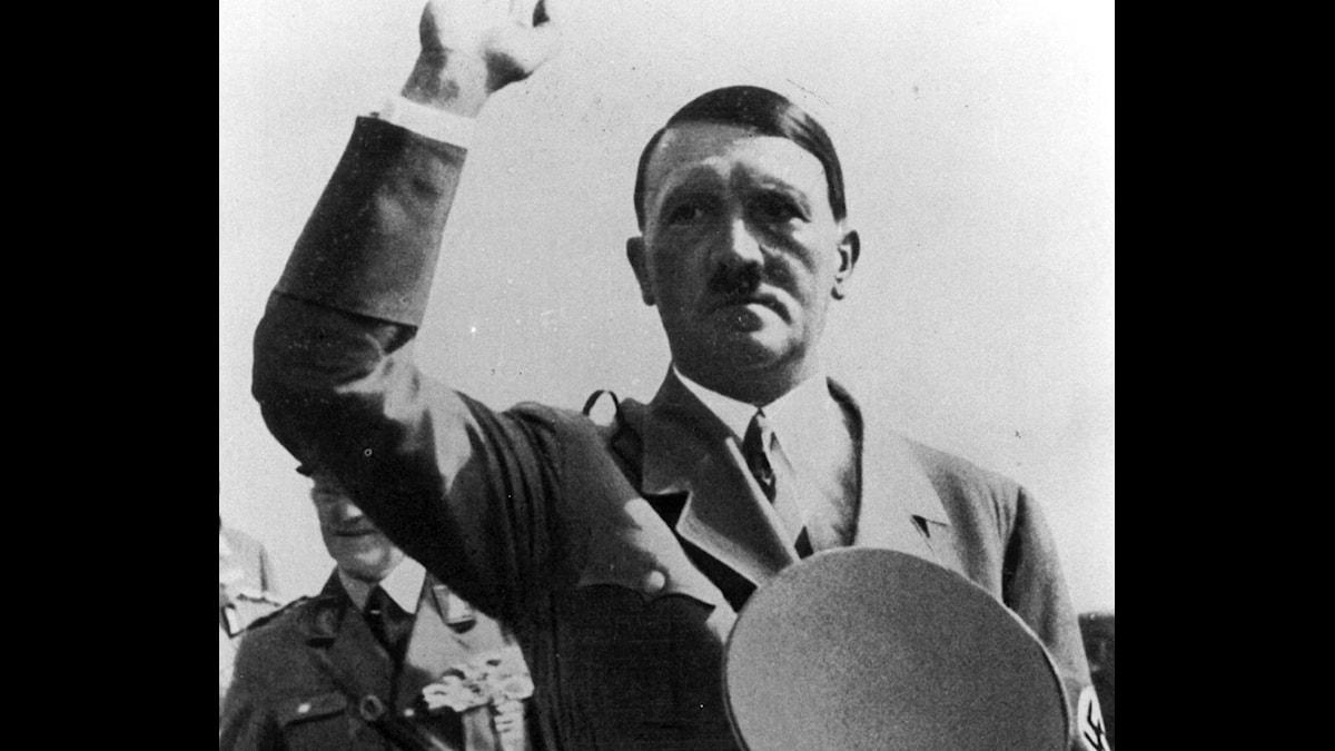 Hitler var beroende av flera tunga droger, visar ny forskning. Foto: TT/Nyhetsbyrån