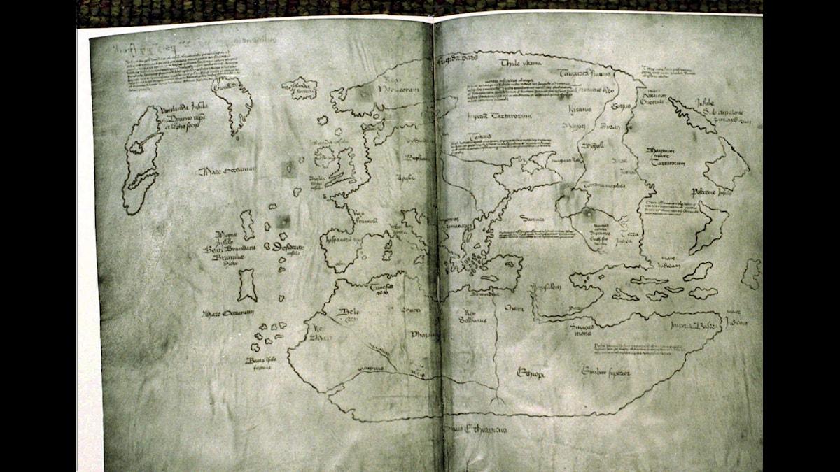 Vinlandskartans äkthet ifrågasätts ständigt. Foto: Pressens Bild/AP