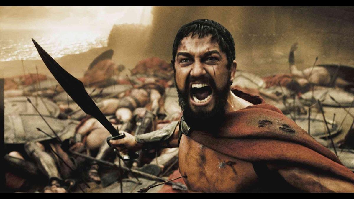 Leonidas spartaner några av senaste decenniets antika hjältar. Foto: Sandrew Metronome