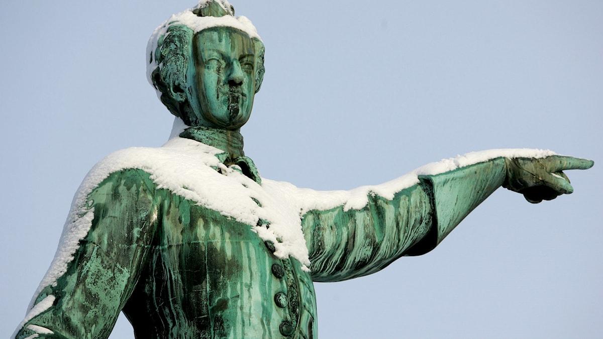 Vi snöar in på Karl XII.