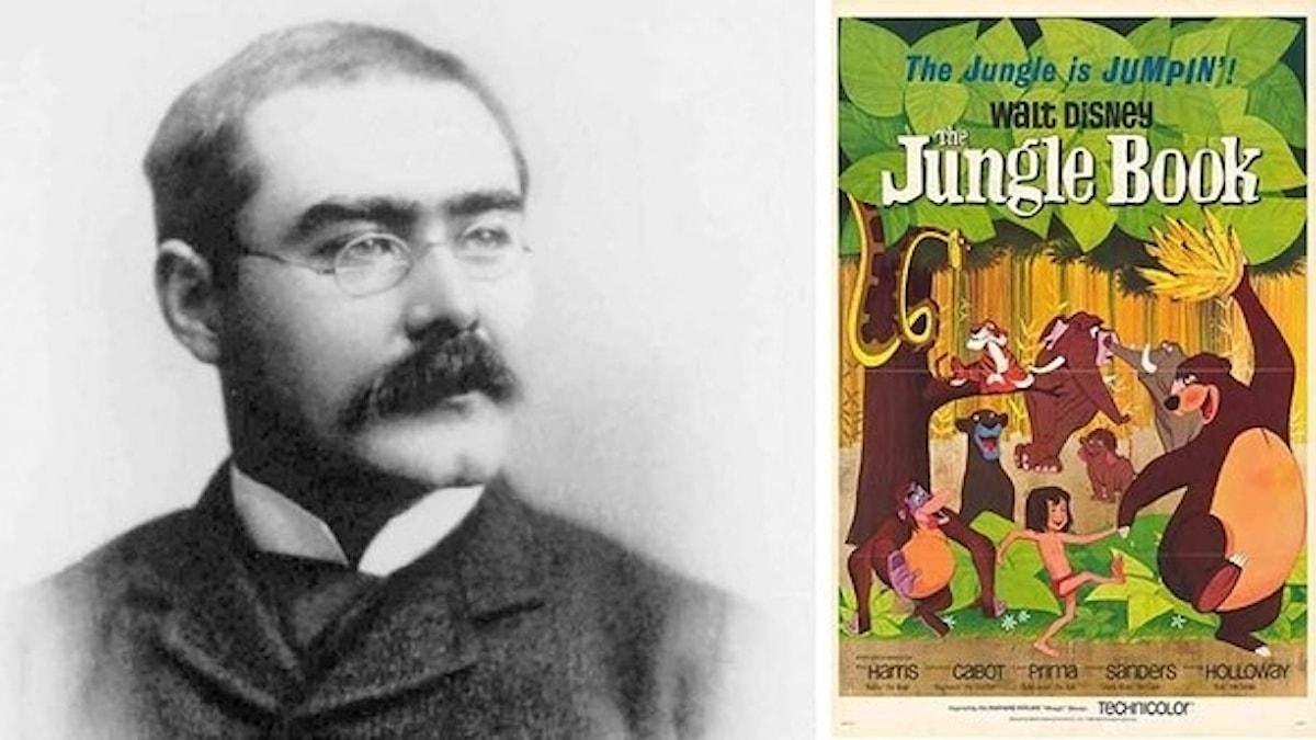 Vetenskapsradion Historia diskuterar Disneys och Kiplings Djungelbok.