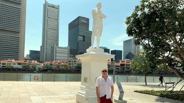 Singapore firar 200 år men söker äldre rötter