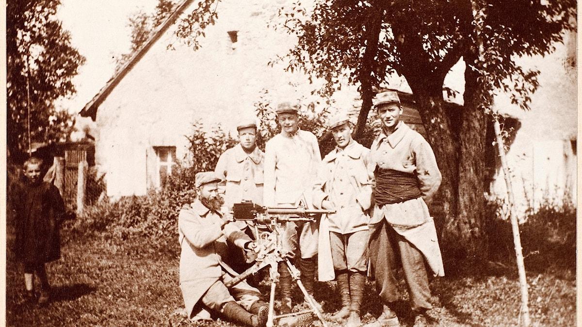 Första världskrigets svenskar