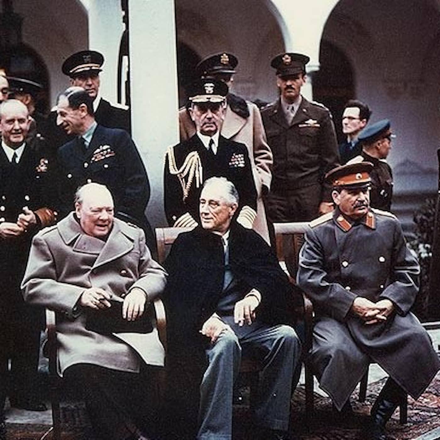 Jaltakonferensen 1945 beseglade världens öde