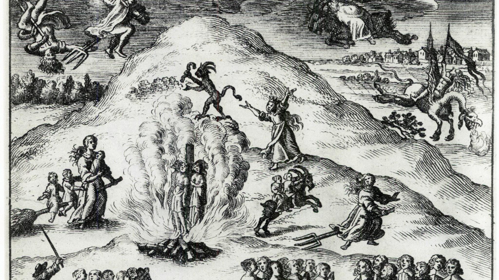 Häxprocesser avslöjar 1600-talets tankevärld