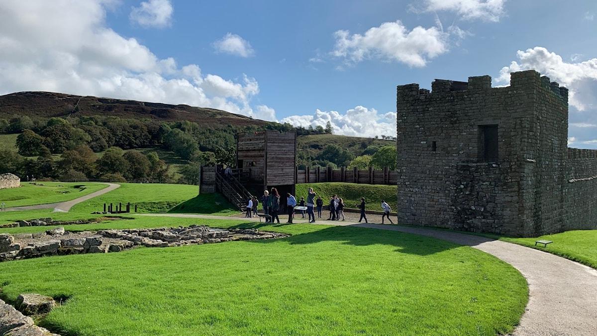 Vindolanda ruvar på Hadrianusmurens innersta hemligheter.