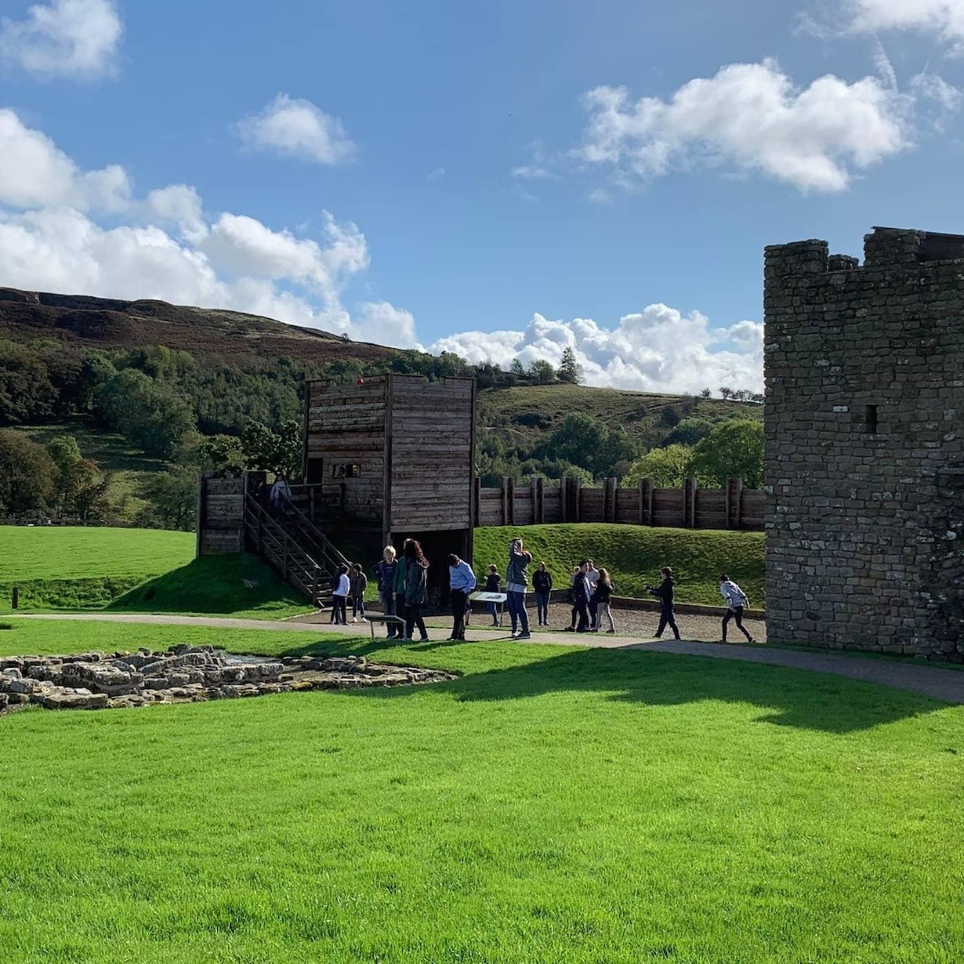 Hadrianus mur präglar britterna