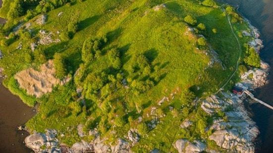 Hallands Ivanhoe-borg grävs ut - spela