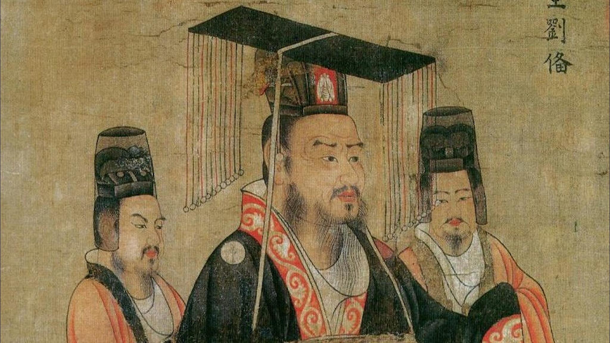Liu Bei var en av centralfigurerna under de tre kungadömenas tid och utropade sig själv till kejsare i ruinerna efter det gamla Hanväldet.