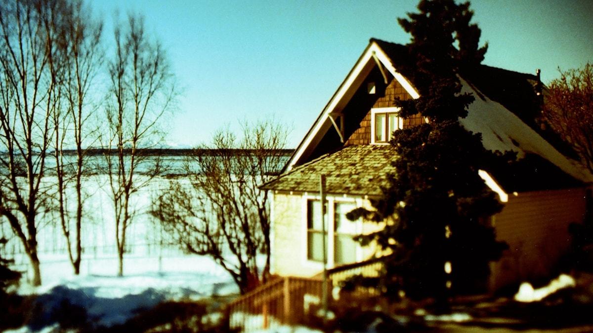 Oscar Andersons hus i Anchorage - ett av stadens äldsta hus.