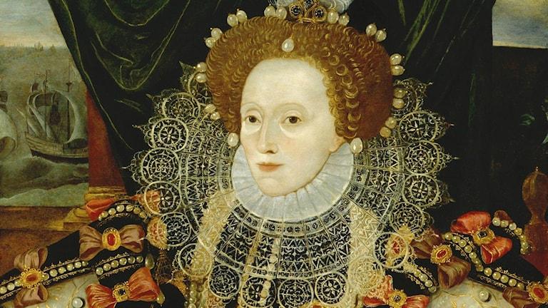Elizabeth I enligt George Gower cirka 1588.