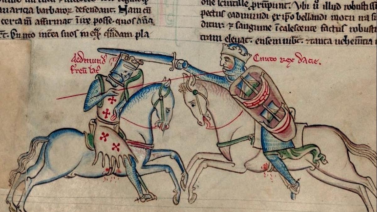 Knut den Store och Edmund Järnsida