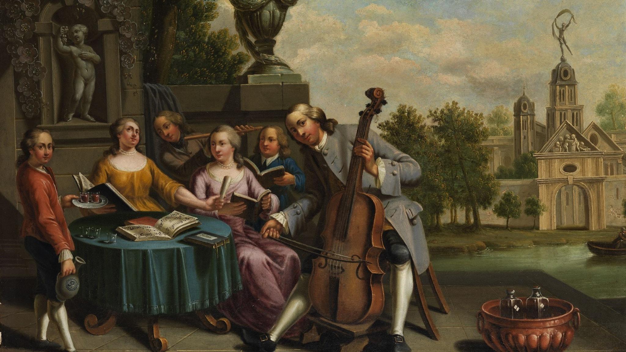 1700-talets musikliv fick en boost av Kungliga Musikaliska Akademien 1771.