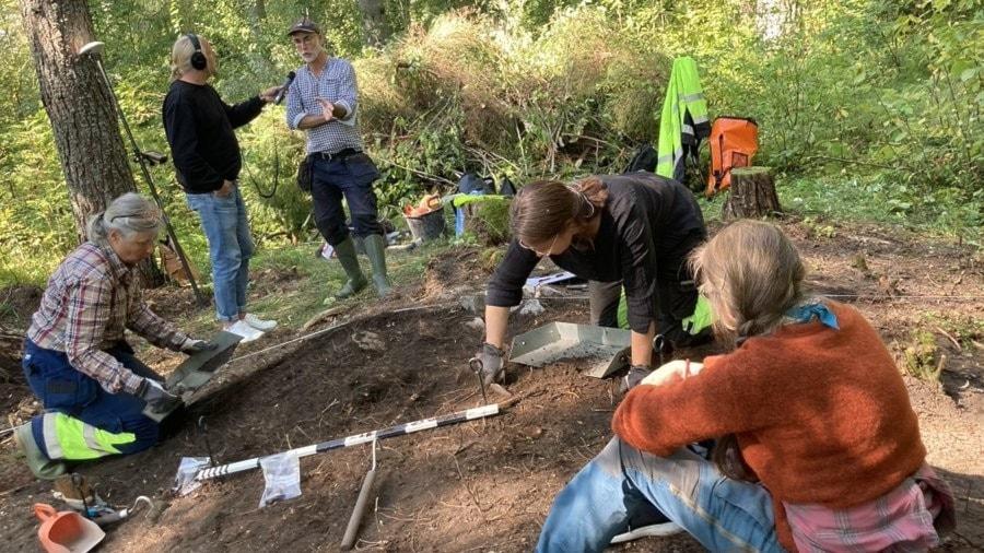 Sydligaste sameboplatsen grävs ut