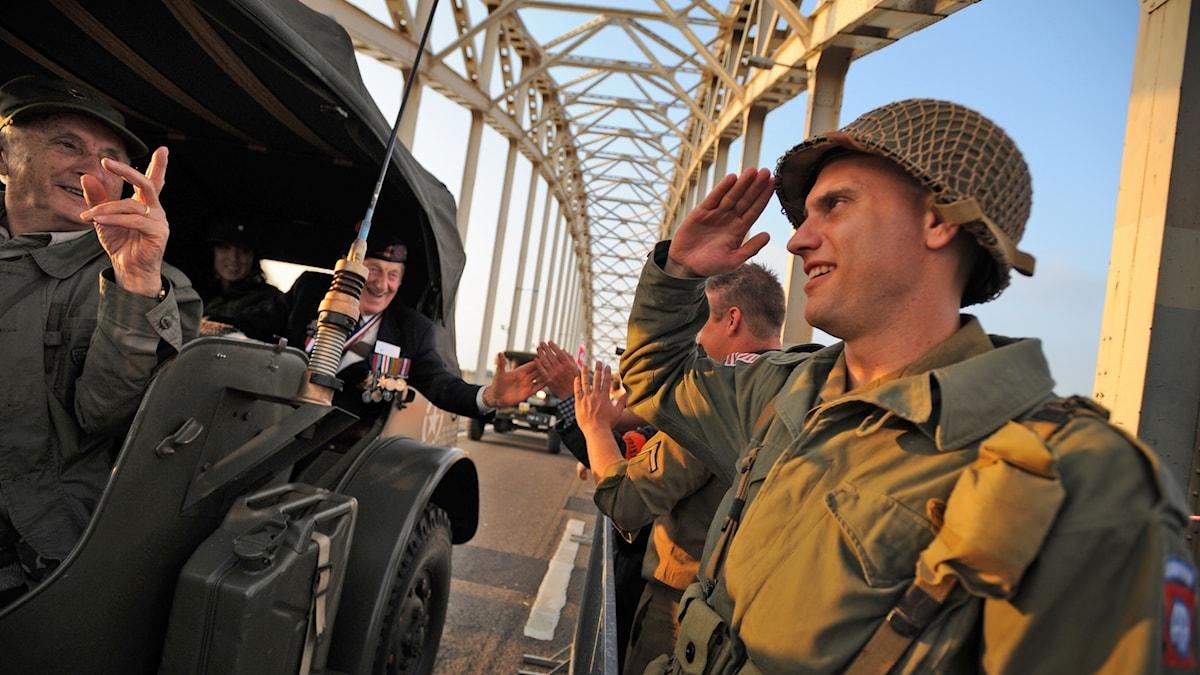 Minnet av katastrofen vid Arnhem högtidlighålls än idag.