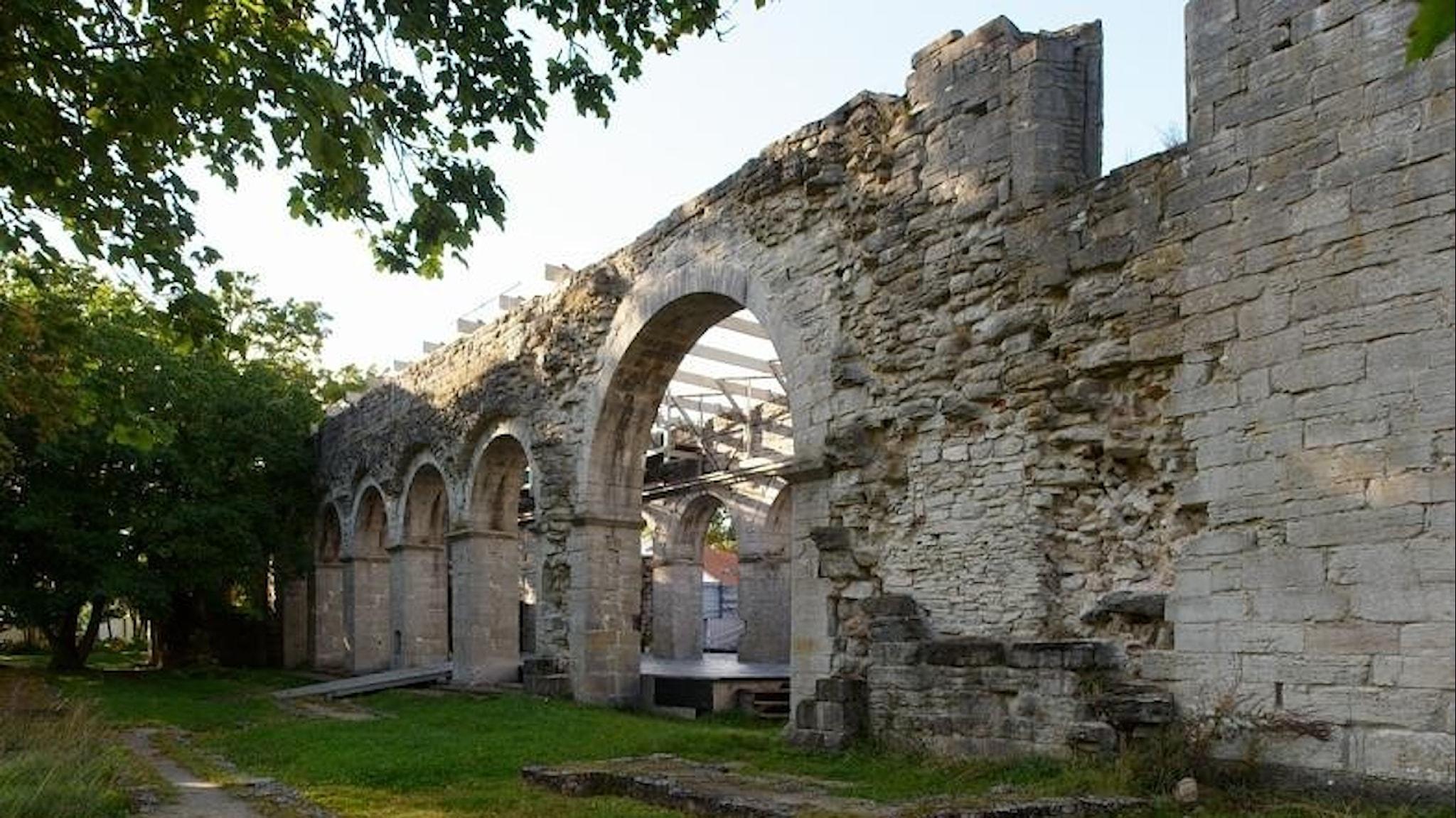 Vid Roma kloster låg det stora gutniska alltinget.