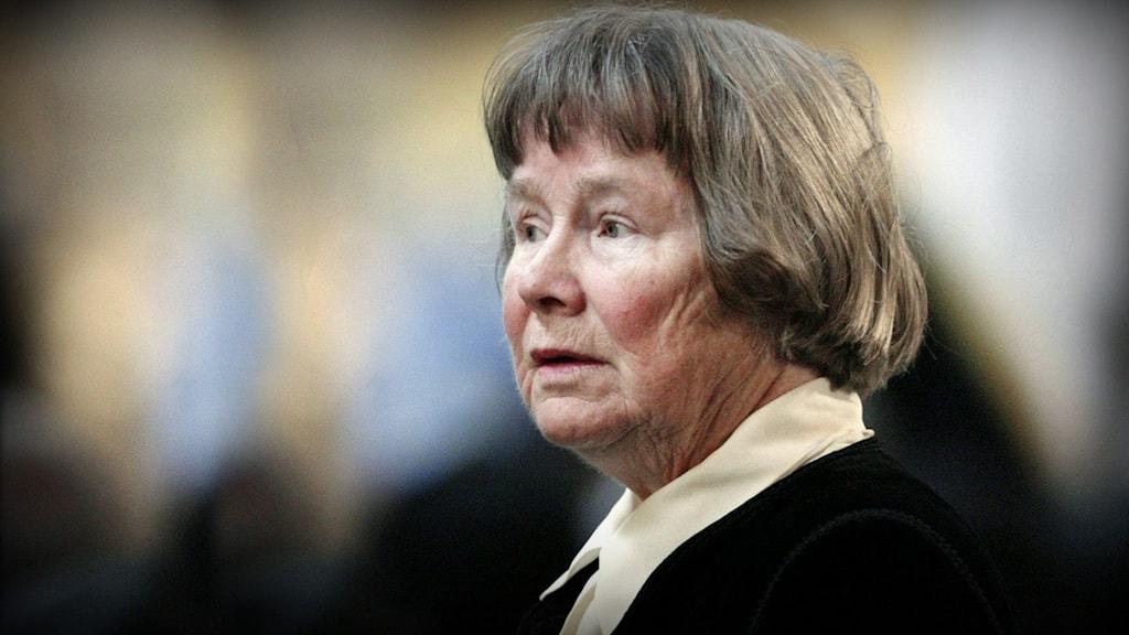 Lisbet Palme. Foto: Ola Torkelsson/TT.