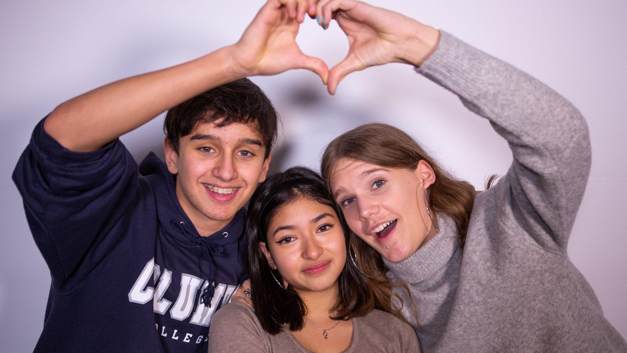 Alex, Sofia och Eliott