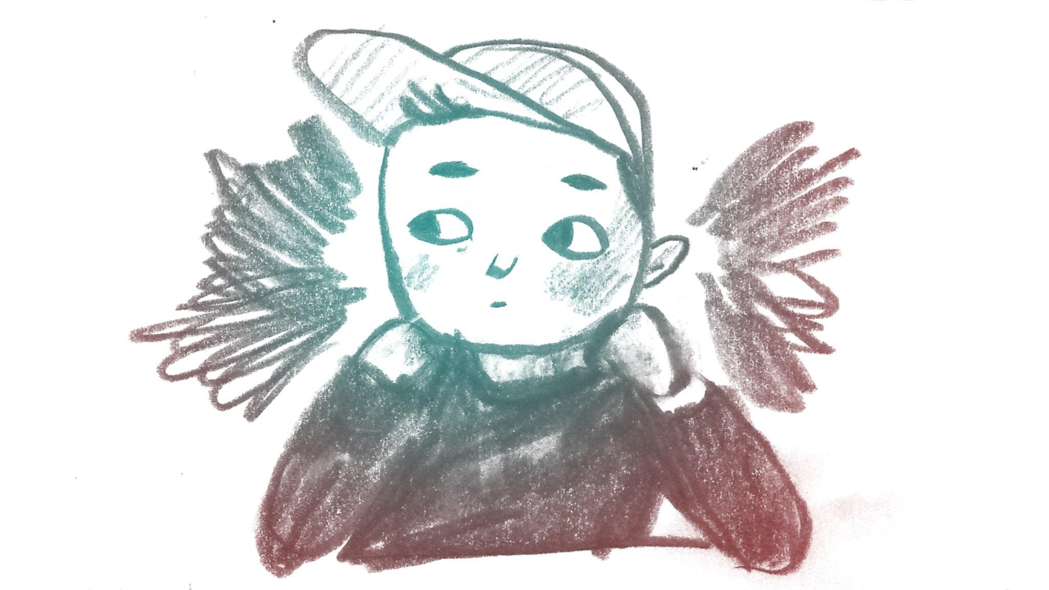 Barn som funderar. 1000 modiga frågor, illustration: Matilda Ruta