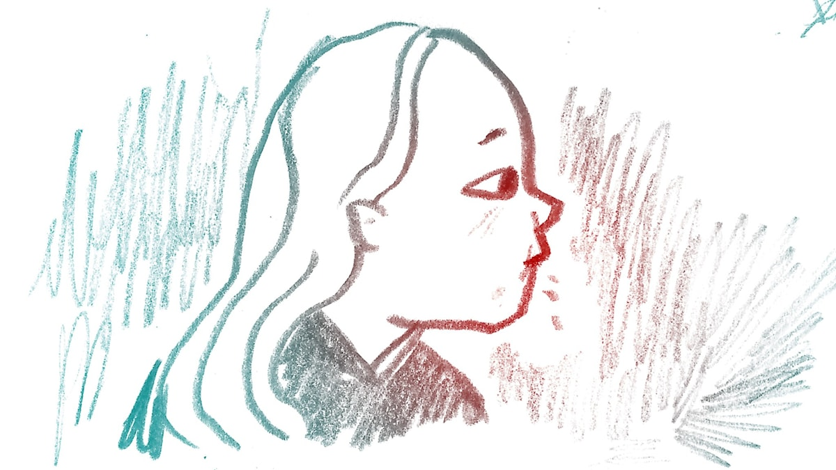 Biter på naglarna. 1000 modiga frågor, illustration: Matilda Ruta