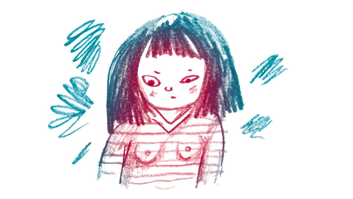 1000 modiga frågor, illustration: Matilda Ruta/ SR
