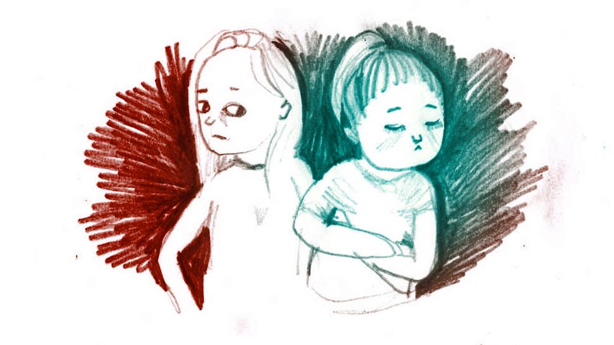 1000 modiga frågor, illustration Matilda Ruta