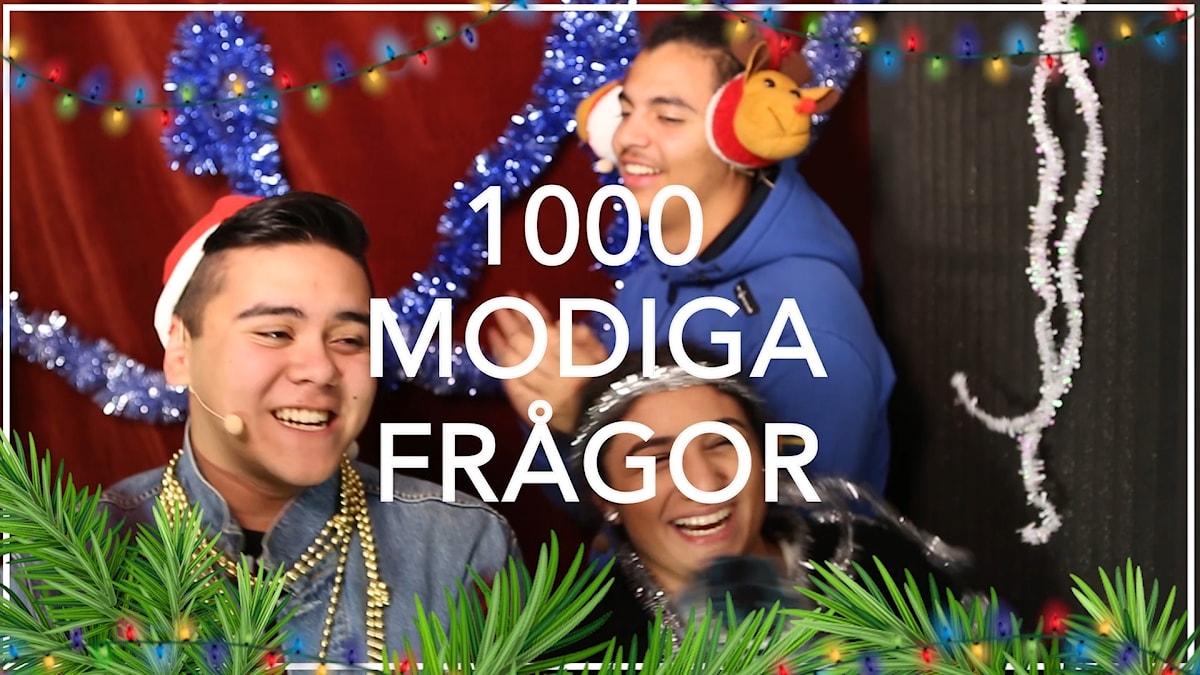 Julspecial med Karin, Johan och Fernando