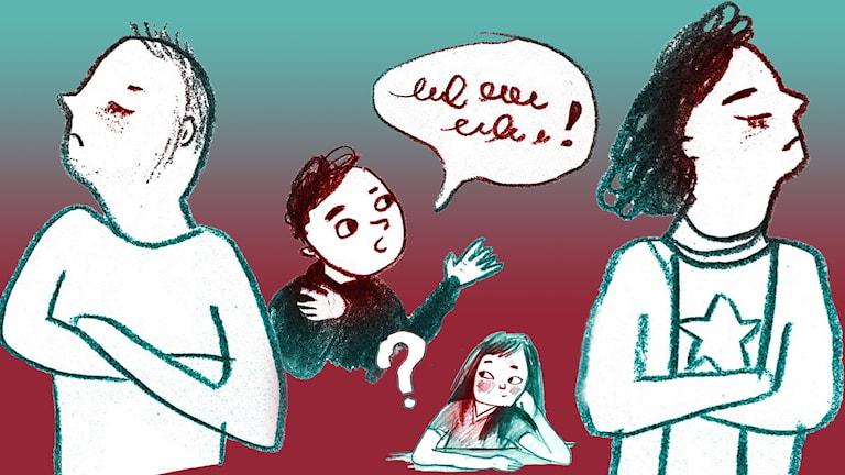 Frågor om föräldrar.