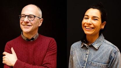 Hans Olsson och Sandra Stendahl