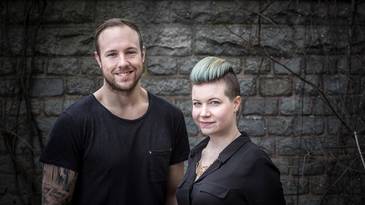 "Emil ""HeatoN"" Christensen och Angelica Norgren leder P3 Spels e-sportsatsning med fokus på Counter-Strike. Foto: Mikael Grönberg/Sveriges Radio"