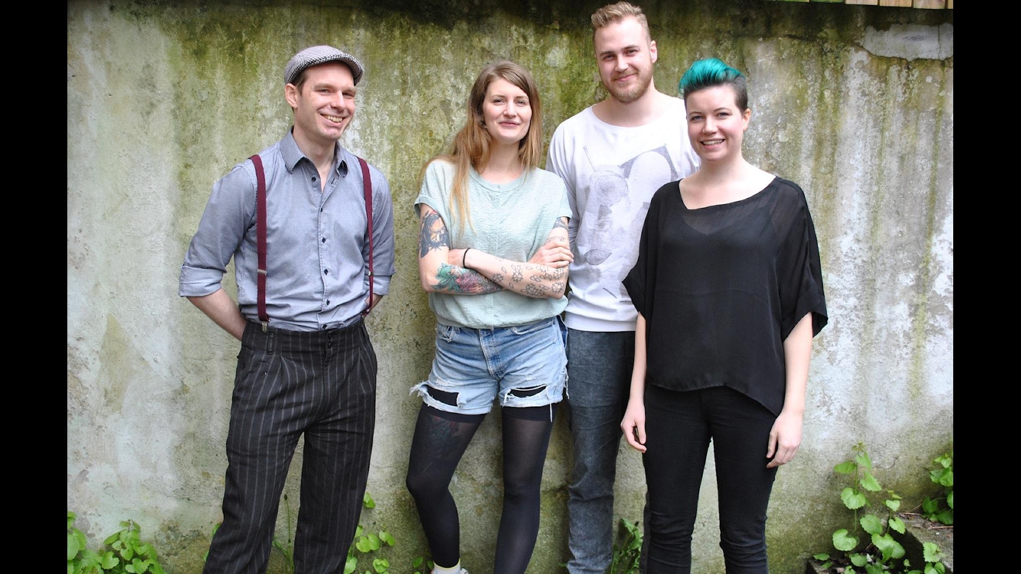 Jon Back, Susanne Möller, Tobias Norström & Angelica Norgren