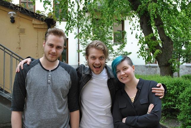 Tobias, Victor & Angelica