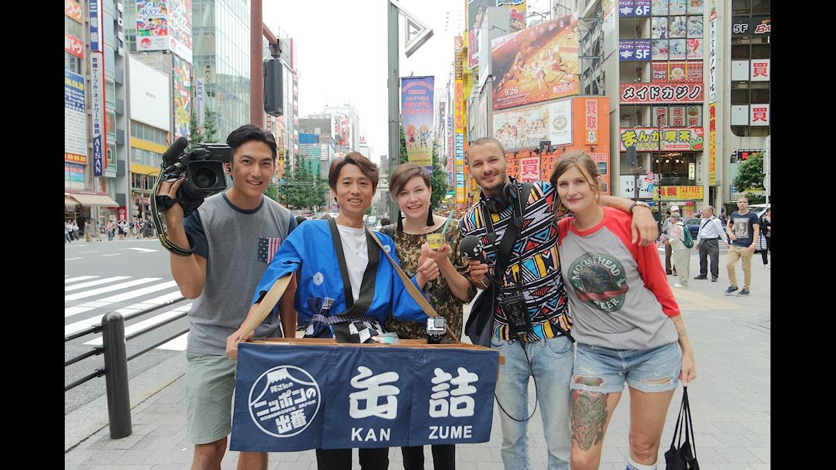 Äventyr på andra sidan jorden! Vad får Angelica, Susanne och producent-Niklas att hamna på en japansk tv-show? Foto: Angelica Norgren