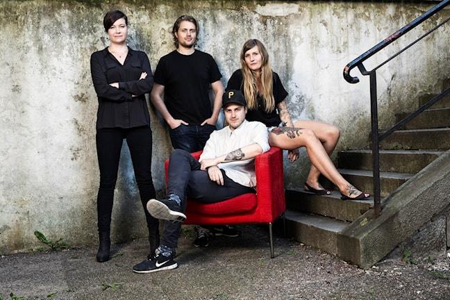 Angelica, Susanne, Tobias, Victor
