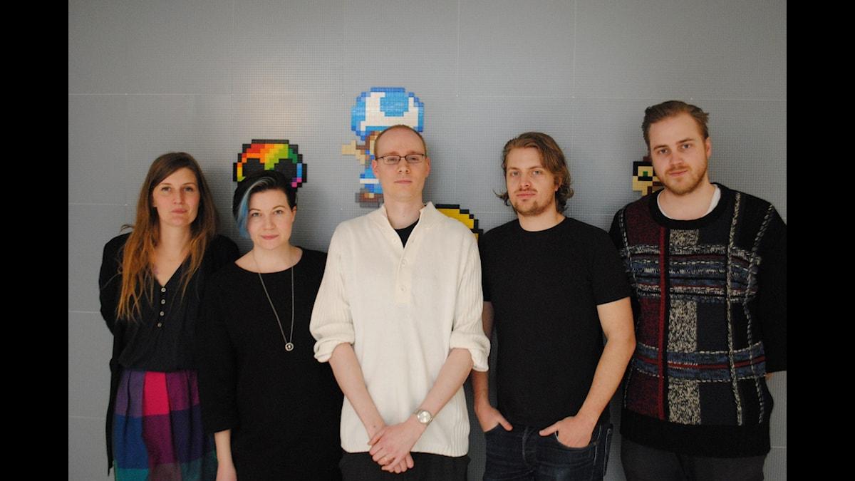 Susanne Möller, Angelica Norgren, Sjoerd de Jong, Victor Leijonhufvud och Tobias Norström
