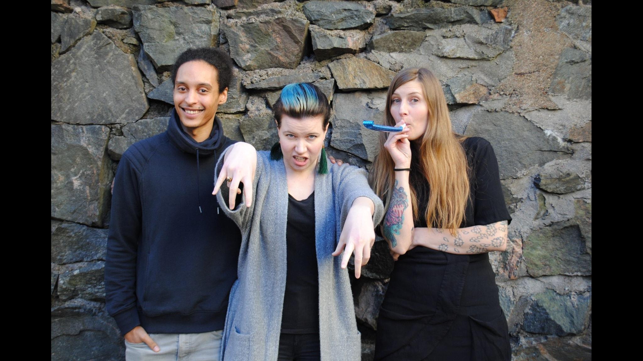Victor, Angelica och Susanne