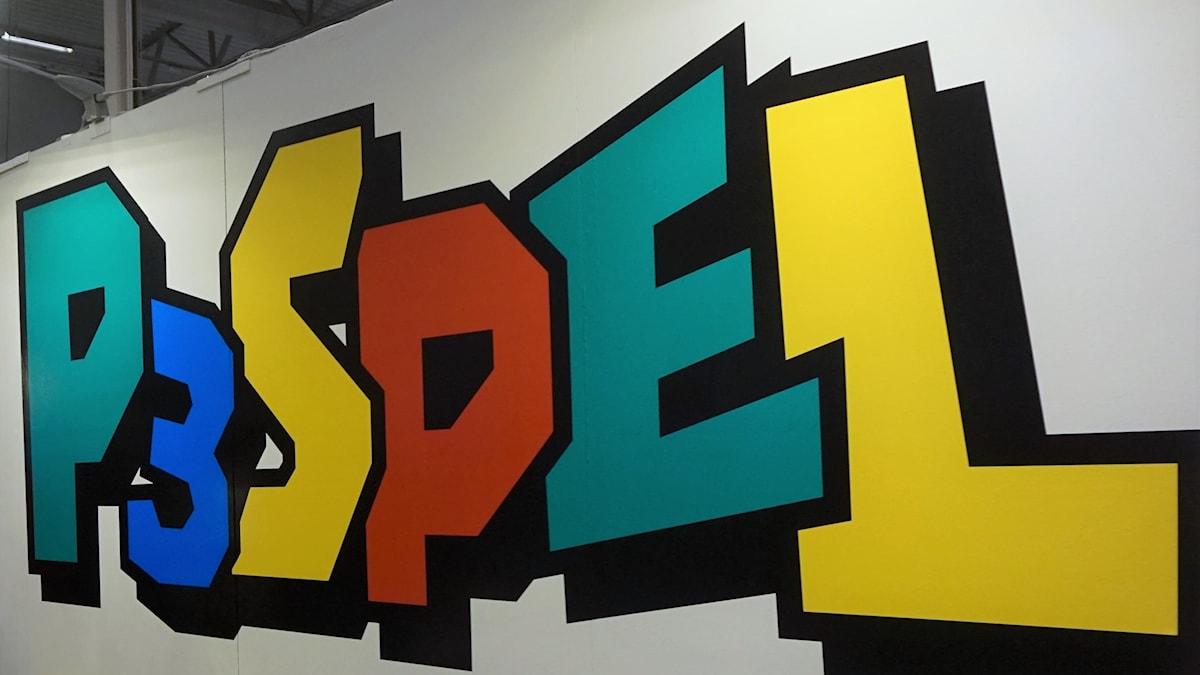 P3 Spel Logga