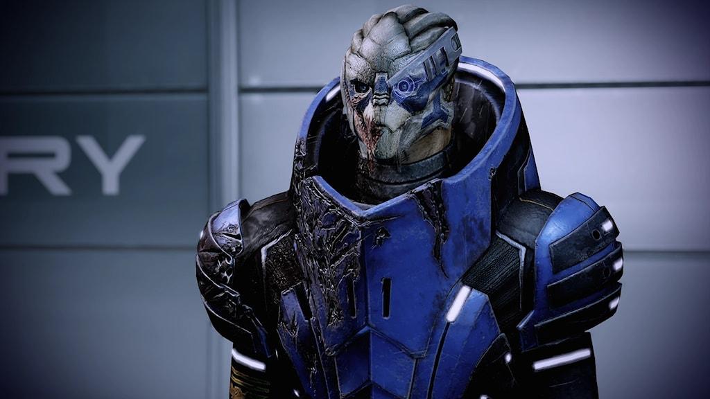En alien från spelet Mass Effect.