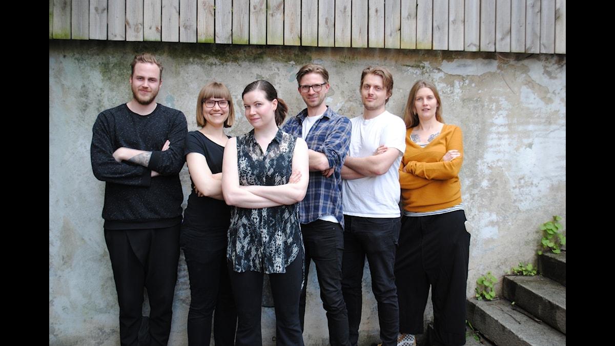 P3 Spel tillsammans med monsterexperterna Sara Bergmark Elfgren och Karl Johnsson