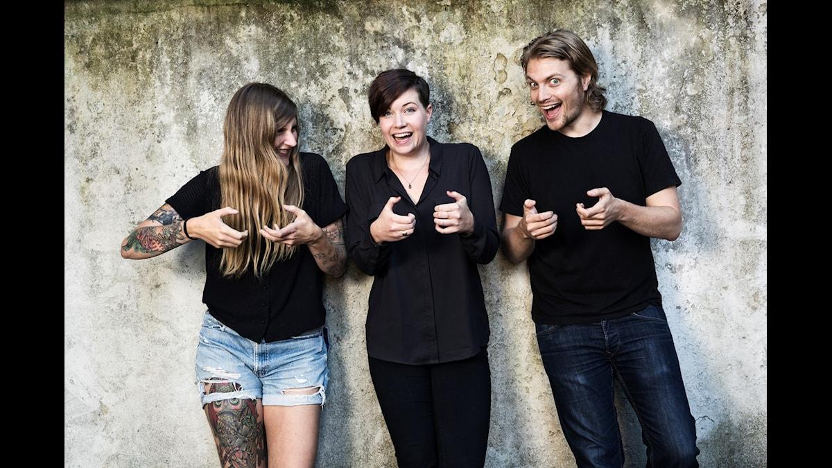 I säsongspremiären får Angelica Norgren sällskap i studion av Susanne Möller och Victor Leijonhufvud.