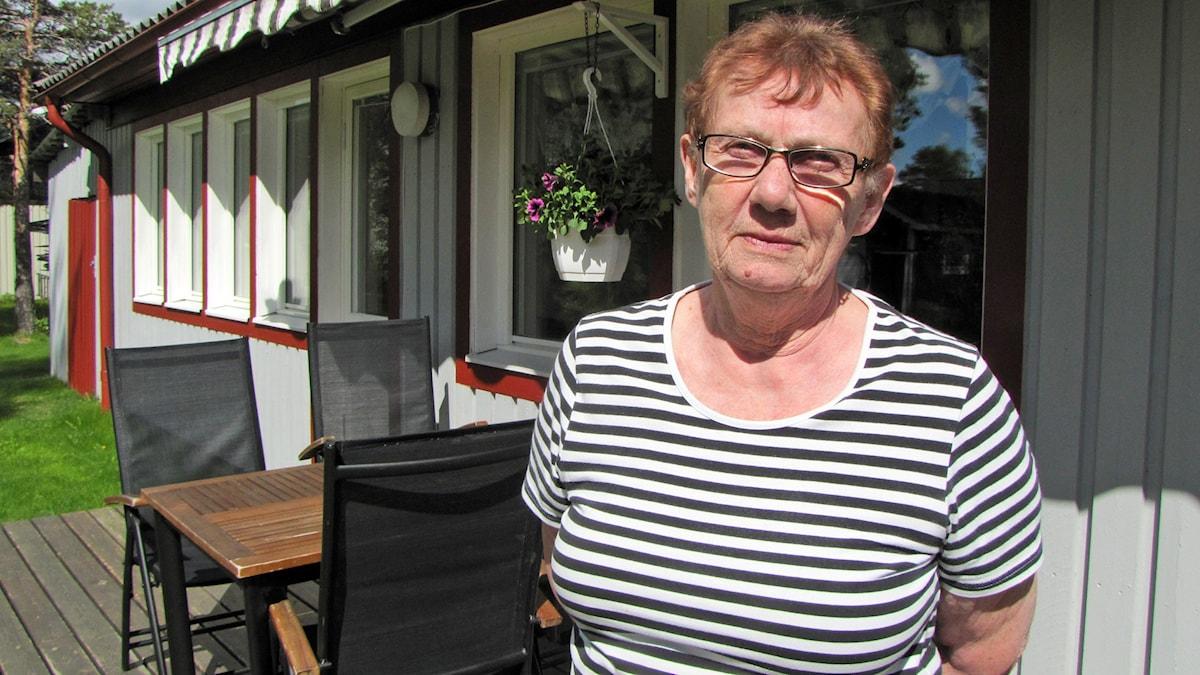 Barbro Hjelte, Norsjö. Foto: Magdalena Martinsson/Sveriges Radio
