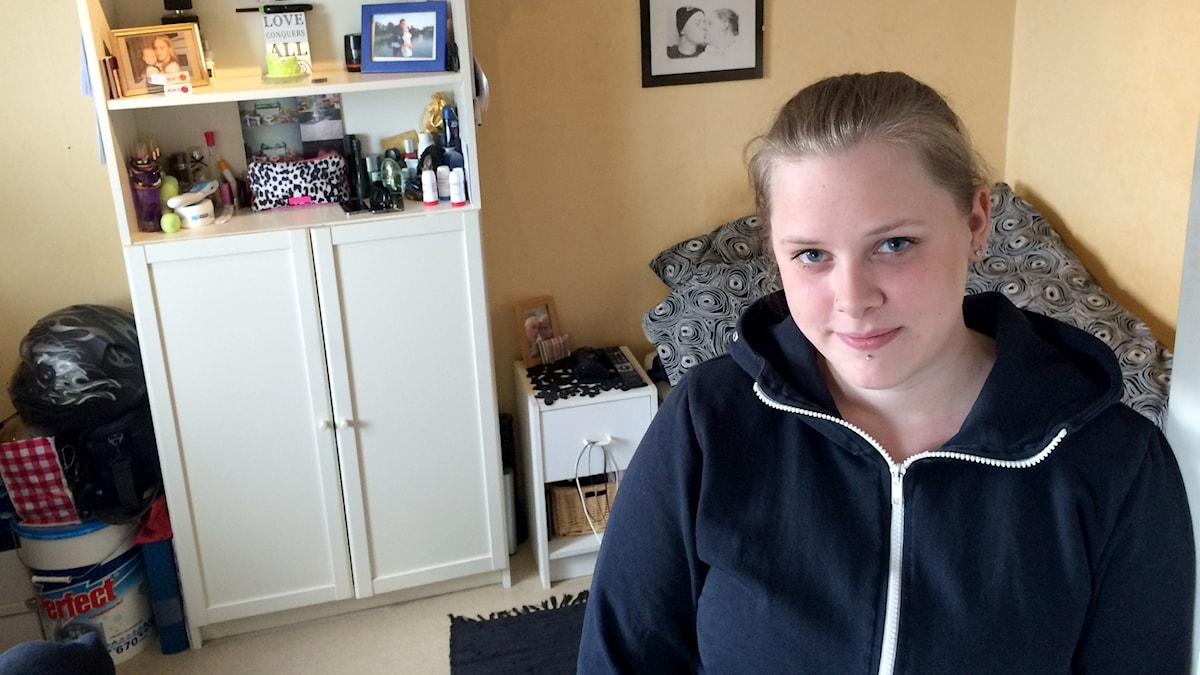Emelie Lindholm. Foto: Olov Antonsson/Sveriges Radio