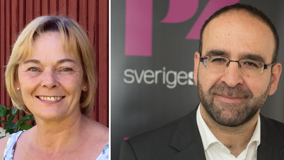 Bild på Ewa Thalén Finné och Mehmet Kaplan. Foto: Privat/Sveriges Radio