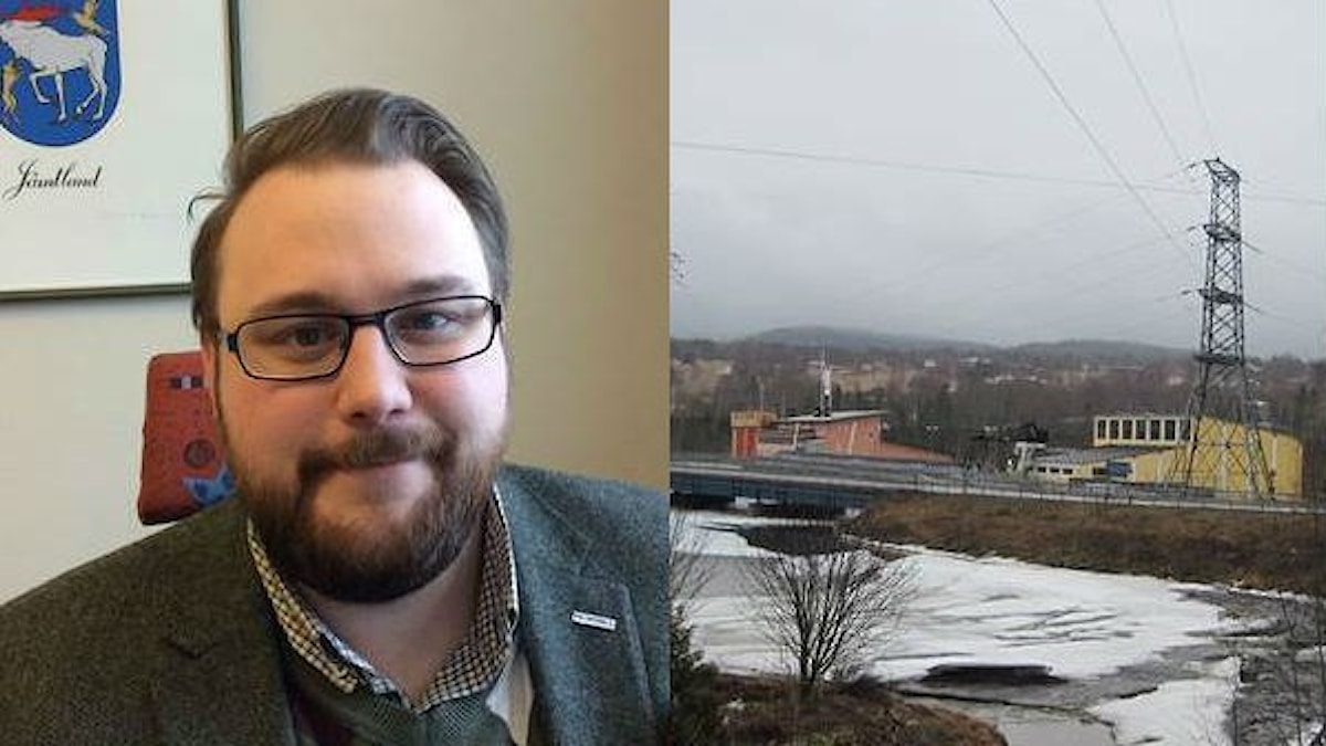 Jonas Andersson, kommunalråd (S) i Ragunda kommun i Jämtland.