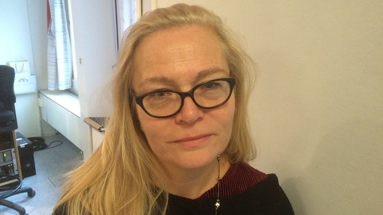 Britta Lejon, ordförande för fackförbundet ST
