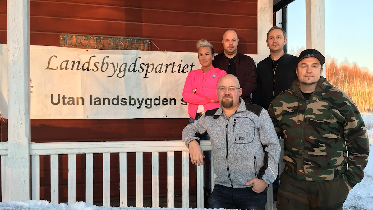 Landsbygdspartiet oberoendes nya lokalavdelning i Vansbro.