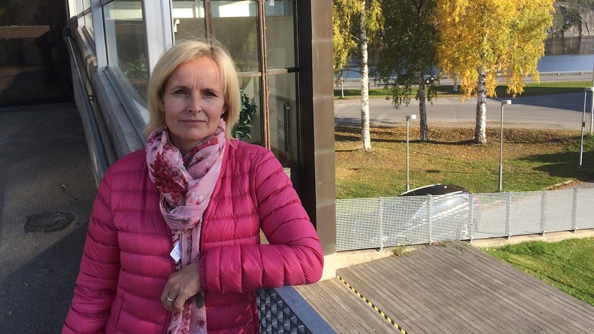 Malin Ackermann i Lycksele.
