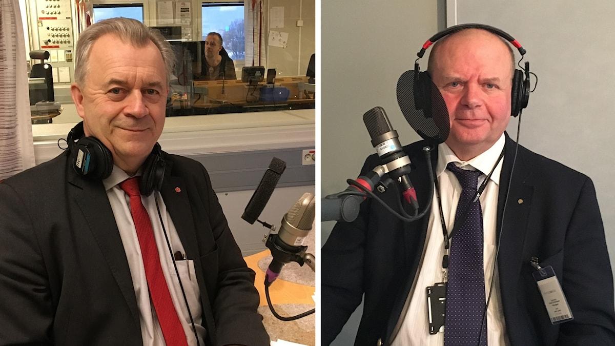 Sven Erik Bucht och Eskil Erlandsson